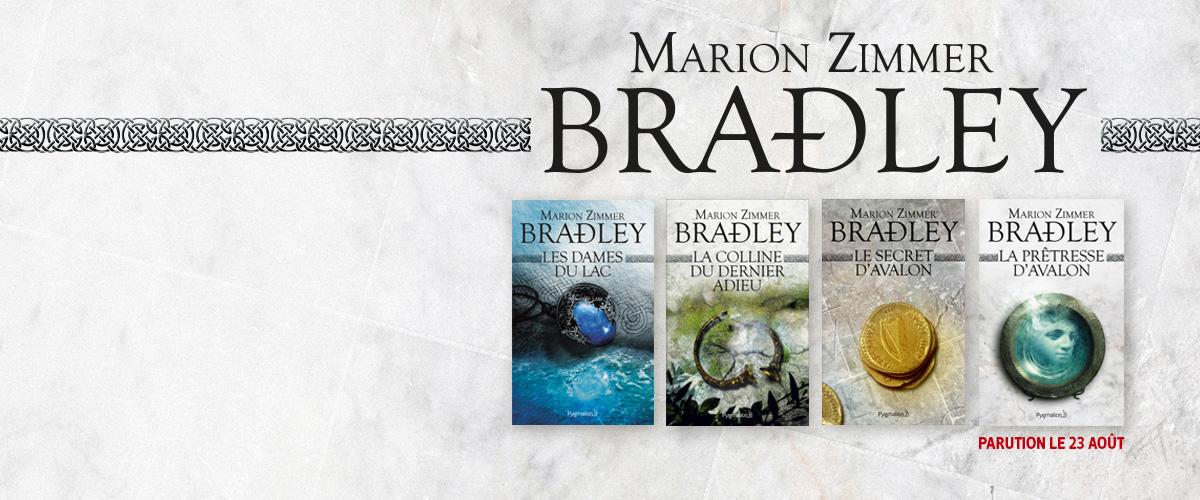 Marion Zimmer Bradley - La colline du dernier adieu, Le secret d'Avalon, Les dames du lac, La prêtresse d'Avalon